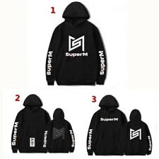 Kpop SuperM  Same paragraph Hoodie men and women Casual Pullover  Sweater shirt
