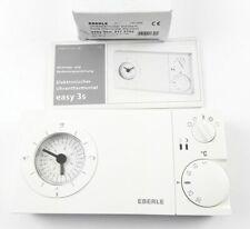 Eberle Horloge Thermostat Analogue 230V 16A Blanc Semaine 5-30°C 100 Heure