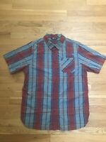 The North Face Mens Short Sleeve Button Down Shirt Large Excellent Condition