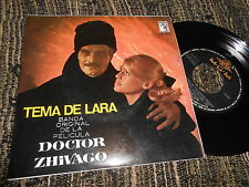"""MAURICE JARRE Doctor Zhivago +3 OST BSO EP 7"""" 45 1966 SPAIN"""