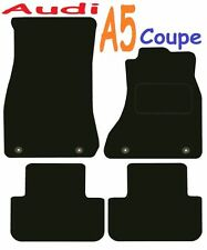 Tailored Deluxe Quality Car Mats Audi A5 2007 Onwards ** Black ** Coupe