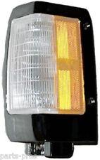 New Chrome Trim Corner Light Lamp LH / FOR 1990-97 NISSAN HARDBODY TRUCK