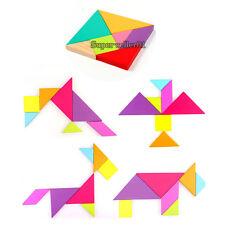 EVA Foam Tangram Brain Teaser Jigsaw Puzzle Toy Kids Early Education Development
