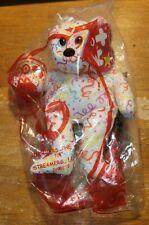 McDonalds Happy Meal 30th Anniversary Ty Teenie Beanie Streamers Bear 2009 NEW