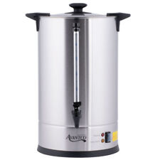 New Cu110etl Avantco 110 Cup 3 Gallon Stainless Steel Commercial Coffee Urn