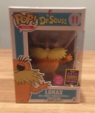 IN HAND SDCC 2017 Exclusive Funko Pop! Dr. Seuss: Lorax Flocked