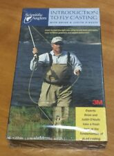 Introduction to Fly Casting with Brian & Judith O'Keefe (VHS) fishing lesson NEW