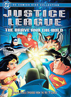 Justice League - The Brave and the Bold - DVD - VERY GOOD