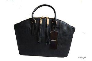 Byblos Ledertasche Damentasche Women's Bag Handtasche 100% echtes Leder NEU!