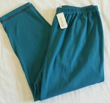 Women's Moonlight Bay Blue Casual Stretch Ankle Pants 2X 22-24 NWT $36 New