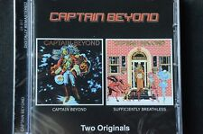 Captain Beyond Captain Beyond / Sufficiently Breathless 2 on 1 CD New + Sealed