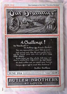 Rare 1914 Butler Brothers St Louis Catalog Jewelry Clothes Bicycle Houseware etc