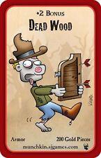 Munchkin Zombies Promo Card Dead Wood John Kovalic Art Steve Jackson Games