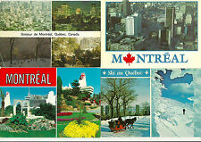 LOT OF 10 MONTREAL, QUEBEC, CANADA CHROME POSTCARDS   L-106