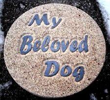 Dog Memorial Mold plaster concrete My Beloved Dog mould