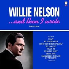 Willie Nelson - & Then I Wrote [New Vinyl LP] 180 Gram, Rmst, Spain - Import