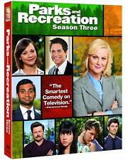 Parks and Recreation: Season Three (DVD, 2011, 3-Disc Set) New