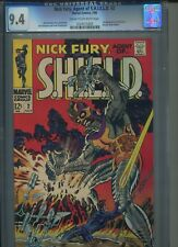 NICK FURY,AGENT OF SHIELD #2 MARVEL COMICS 7/68 CGC 9.4 1ST APPEA. OF CENTURIUS