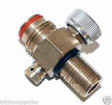 replacement Brass Pin Valve for CO2 on-off Paintball Tank.