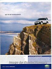 2007 Land Rover LR3 - Original Advertisement Print Art Car Ad J725