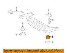 TOYOTA OEM Rear Suspension-Susp Crossmember Lower Insulator 5227506051