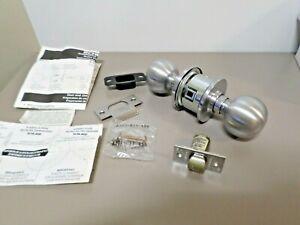 Schlage A10S ORB 626 11-068 Latches 10-001 Orbit Passage Latch Satin Chrome