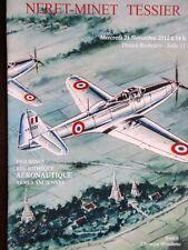 Catalogue de vente Figurines Soldats de plomb aeronotique Bibliotheque militaire
