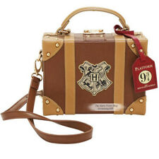 Harry Potter Hogwarts School Badge PU Shoulder Bag Suitcase 9 3/4 Luggage Tag