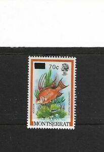 1983 MONTSERRAT - HOGFISH - SINGLE STAMP - MINT AND NEVER HINGED.
