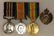 WW1 Canadian Military Medal MM and Pair 220390 Sapr J Wilson 4 CE Engineers