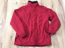 Aigle Termo Rojo para Hombre Abrigo Chaqueta Con Capucha Al Aire Libre Parker Talla XL Caminar Senderismo