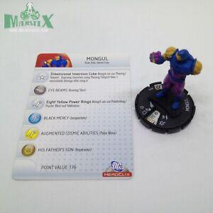 Heroclix DC75th Anniversary set Mongul #044 Rare figure w/card!