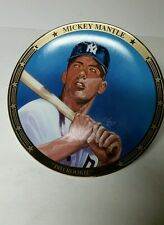"Mickey Mantle  Sports Impressions  Display Plate ""1951 ROOKIE""  L.E. Non Auto"