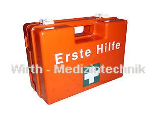 Erste Hilfe Kasten Koffer Verbandskasten Schule Betrieb DIN 13157 DIN 13169