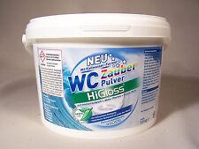 HiGloss WC Zauberpulver 2,5 KG Intensiv Schaum bis unter den Rand