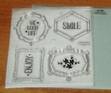 CTMH D1681 PERFECT PICTURE CRICUT COLLECTION ~ FRAMES, Life is Good,SMILE, ENJOY
