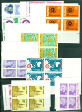 EDW1949SELL : PHILIPPINES Nice collection all DIFF MNH Imperf Blks of 4 Cat $273