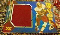 2019 Panini XR Maximal Washington Redskins Derrius Guice jumbo relic 27/49