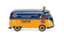 """VW T1 FURGONE """" ASG """" 1963 WIKING 079713 scala H0 1:87 Modellino Auto modello"""
