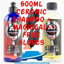 AUTOBRITE DIRECT 500ML MAGISEAL CERAMIC SHIELD COATING+CERAMIC INFUSED SHAMPOO+G