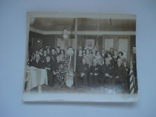 DAHLGREN POST GAR PHOTO WITH CANNON TABLE AND SANTA CLAUS