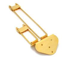 Gold Frequensator Trapeze Tailpiece Hollowbody/Archtop/Jazz Guitar TP-0433-002