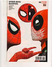 SPIDER-MAN/DEADPOOL #6, 1st PRINT, NM or better, Marvel Comics (August 2016)