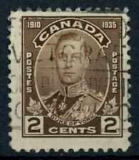 Canada 1935 SG#336, 2c Silver Jubilee Used #E84854