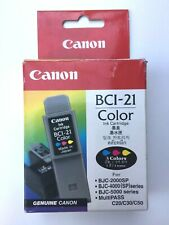 ➔ Canon BCI-21 Color Genuine New Sealed Apple Color StyleWriter 2400/2500 M3329