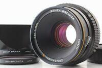 【TOP MINT】 Zenza Bronica ZENZANON S 80mm f2.8 Lens L-1B Filter + Hood From JAPAN