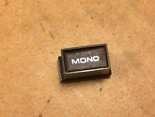 Sansui Six & Seven Parts - MONO Push button Knob Cover for Receiver