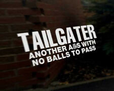 TAILGATER car vinyl decal vehicle bike graphic bumper sticker