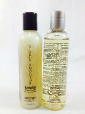 Simply Smooth Keratin Treatment and Pre-Clean Shampoo 4 oz Duo Pack