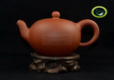 Artist Made Yixing Zisha Red Clay ZhuNi Tea Pot Teapot 240ml
